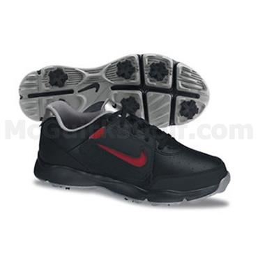 Nike Junior Remix Golf Shoes Black - Red