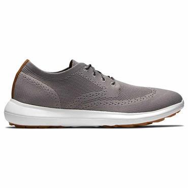 FootJoy Gents Flex Shoes Medium-Fit Grey