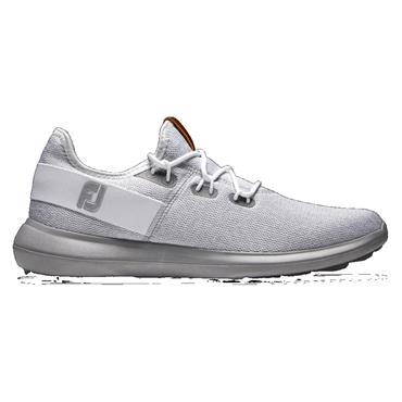 FootJoy Gents Flex Coastal Medium Fit Shoe White - Grey
