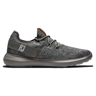 FootJoy Gents Flex Coastal Medium Fit Shoe Black - Charcoal