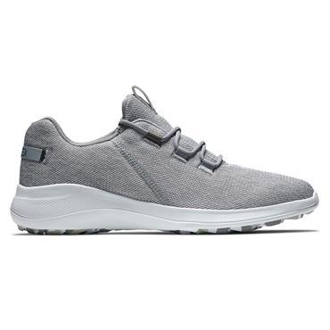 FootJoy Gents Flex Coastal Shoes White - Grey