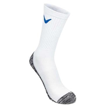 Callaway Gents Tour Cotton Crew Socks White