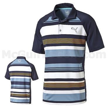 Puma Junior - Boys Roadmap Golf Polo Peacoat