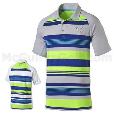 Puma Junior - Boys Roadmap Golf Polo Bright White