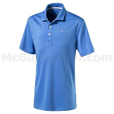 Puma Junior - Boys Essential Pounce Golf Polo French Blue