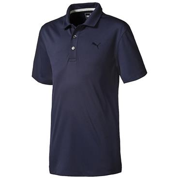 Puma Junior - Boys Essential Pounce Golf Polo Peacoat