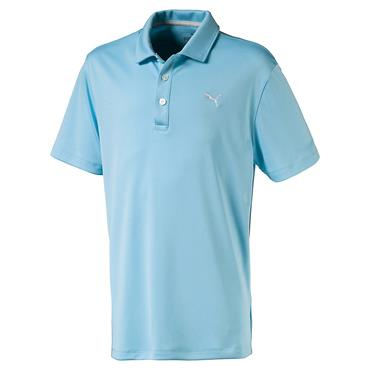 Puma Junior - Boys Essential Pounce Golf Polo Turquoise
