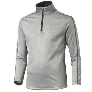 Puma Junior - Boys Core Fleece 1/4 Zip Top Grey - Heather