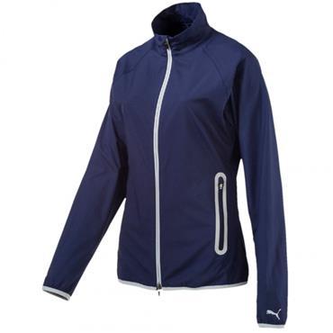 Puma Ladies Full Zip Wind Jacket Peacoat