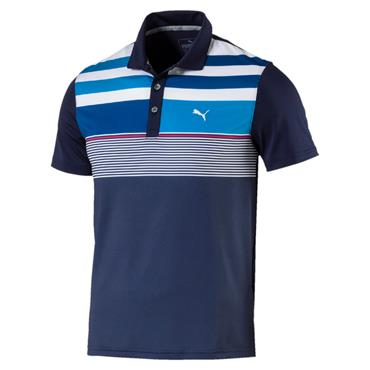 Puma Junior - Boys Road Map Polo Peacoat