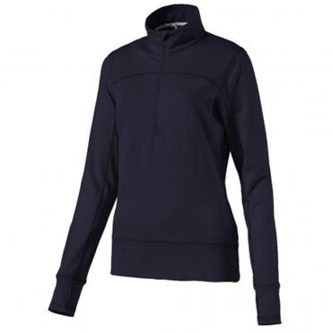 Puma Ladies 1/4 Zip Popover Peacoat