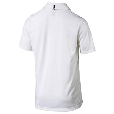 Puma Gents Bisected Polo White