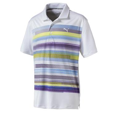 Puma Junior - Boys Baker Polo White - Nrgy Yellow