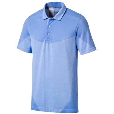 Puma Gents EvoKnit Seamless Polo Shirt Marina