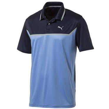 Puma Gents Bonded Tech Polo Shirt Peacoat