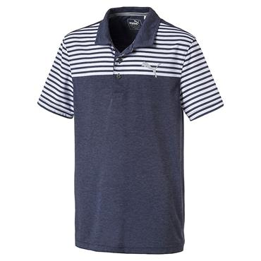 Puma Junior - Boys Clubhouse Polo Shirt Peacoat