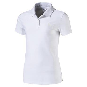 Puma Junior - Girls Aston Polo Shirt Bright White