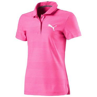 Puma Junior - Girls Aston Polo Shirt Carmine Rose