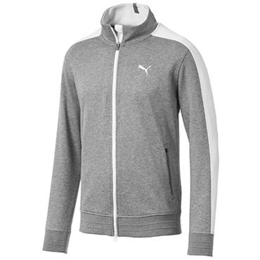 Puma Gents T7 Track Jacket Grey - Heather