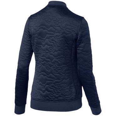 Puma Ladies Camo Jacket Peacoat