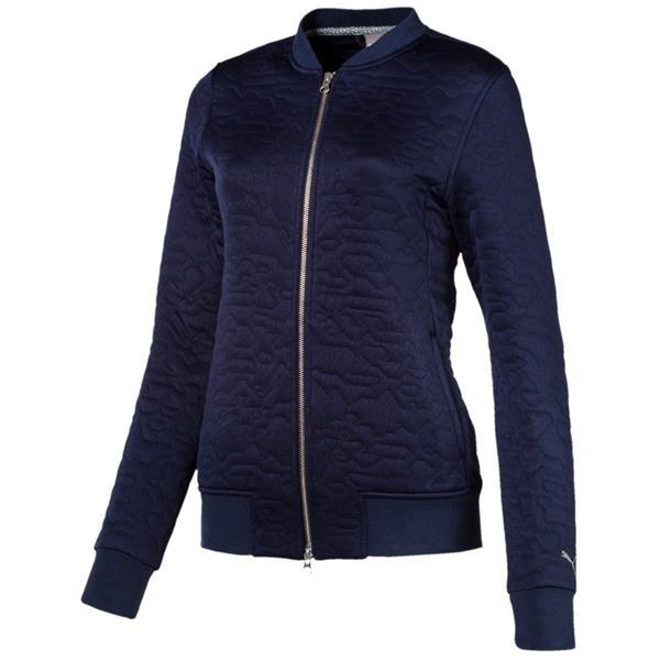 a01cf2ff0c76 Puma Ladies Camo Jacket Peacoat