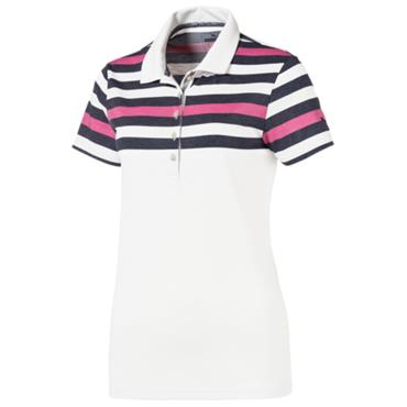 Puma Ladies Road Map Polo Shirt Peacoat