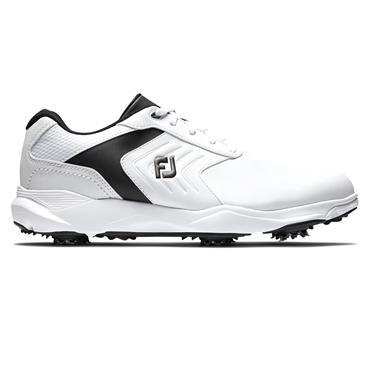 FootJoy Gents Ecomfort Shoe Medium Fit White - Black