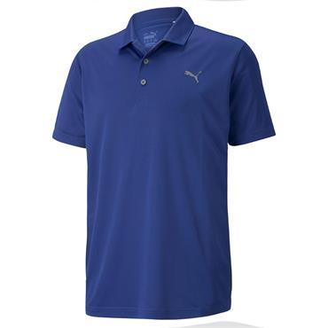 Puma Gents Rotation Polo Shirt Mazarine Blue