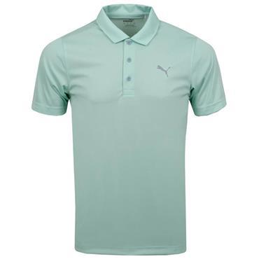 Puma Gents Rotation Polo Shirt Mist Green