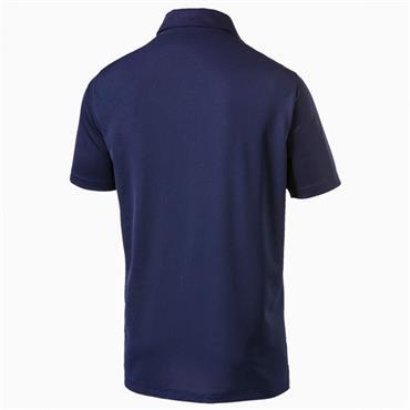 Puma Gents Rotation Sol Polo Shirt Navy
