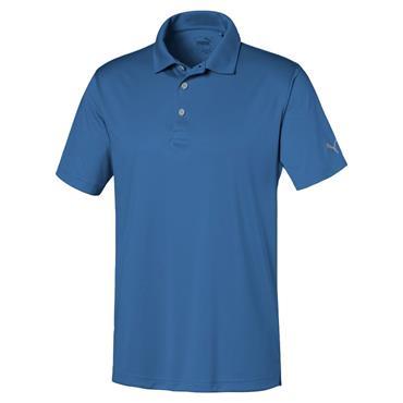 Puma Gents Rotation Sol Polo Shirt Star Sapphire