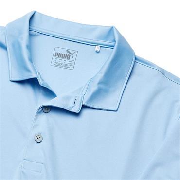 Puma Gents Rotation Polo Shirt Blue Bell