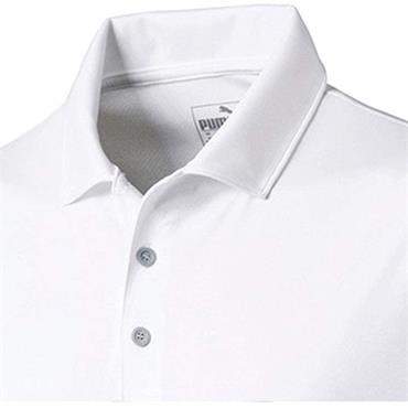 Puma Gents Rotation Polo Shirt Bright White