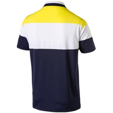 Puma Gents Nineties Polo Shirt Blazing Yellow