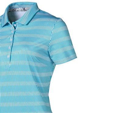 Puma Ladies Forward Tees Polo Shirt Caribbean Sea