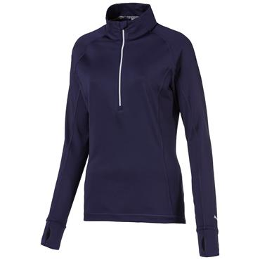 Puma Ladies Rotation 1/4 Zip Peacoat