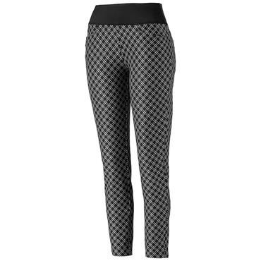 Puma Ladies Pwrshape Checker Golf Pants Peacoat
