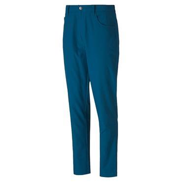 Puma Gents Jackpot 5-Pocket Pants Blue