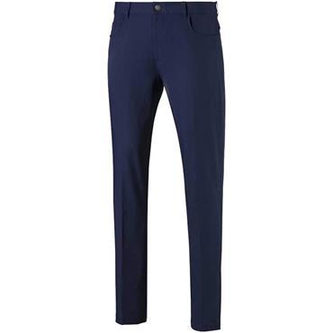 Puma Gents Jackpot 5-Pocket Pants Peacoat