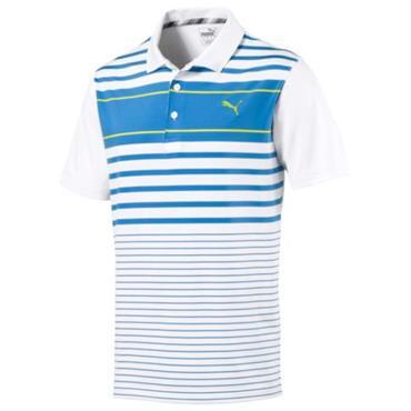 Puma Gents Spotlight Polo Shirt Azure Blue