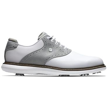 FootJoy Gents Frosted FJ Traditions White - Grey