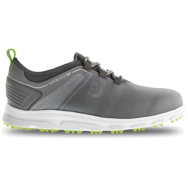 FootJoy SuperLites XP Medium Fit Golf Shoes Grey - Lime