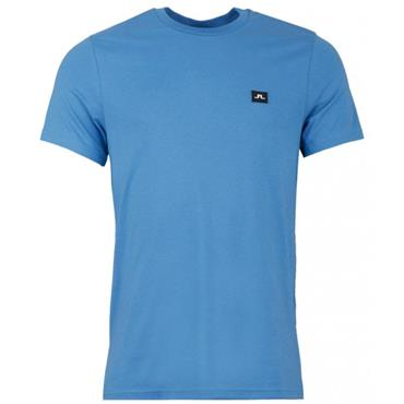 J.Lindeberg Gents Bridge Jersey T-Shirt Blue