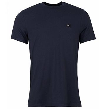 J.Lindeberg Gents Bridge Jersey T-Shirt Navy