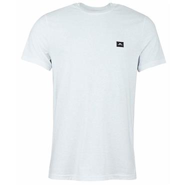 J.Lindeberg Gents Bridge Jersey T-Shirt White