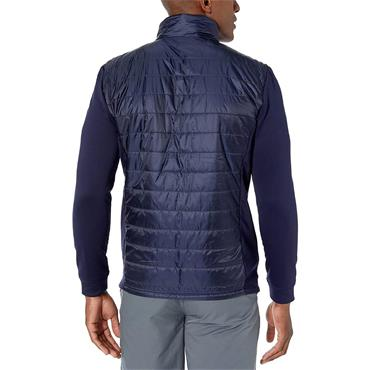Puma Gents Quilted Primaloft Jacket Peacoat