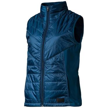 Puma Ladies Quilted Primaloft Golf Vest Gibraltar Sea