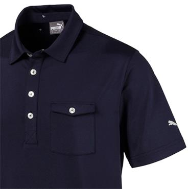Puma Gents Donegal Polo Peacoat