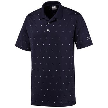 Puma Gents Skerries Polo Shirt Peacoat