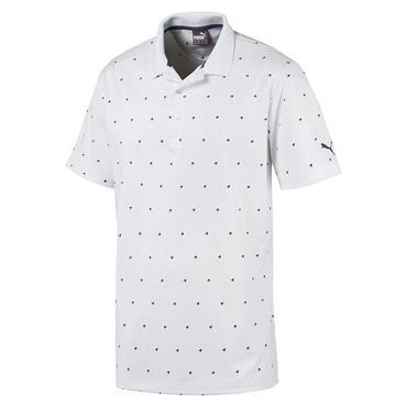 Puma Gents Skerries Polo Shirt White